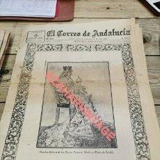 Militaria: EL CORREO DE ANDALUCIA, GUERRA CIVIL, 15-08-1936, VIRGEN DE LOS REYES, BOBADILLA, MERIDA,ETC.... Lote 265885308