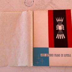 Militaria: JOSE ANTONIO PRIMO DE RIVERA TESTAMENTO 1936 EDITADO LERIDA 1960. Lote 268867279