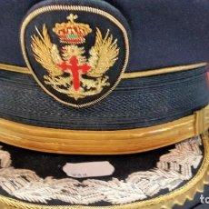 Militaria: GORRA DE GENERAL DE GALA REGLAMENTO JUAN CARLOS. Lote 269000764