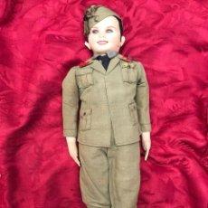 Militaria: CASA MARÍN. MUÑECO TENIENTE DE TRAPO DE FF. AÑOS 30 (GUERRA CIVIL). Lote 269945733