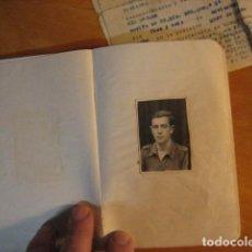 Militaria: DIARIO MANUSCRITO SOLDADO HERIDO EN LA BATALLA DEL EBRO Y ACTA DEL TRIBUNAL MEDICO. Lote 270101288