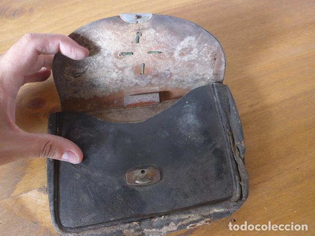Militaria: Antigua cartera cartuchera de policia guardia urbana de barcelona de 1900s/1930s. original - Foto 6 - 275516053