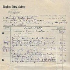 Militaria: MARCHENA-SEVILLA- PROCURADOR .- MINUTA- AÑO 1933, VER FOTO. Lote 287210828