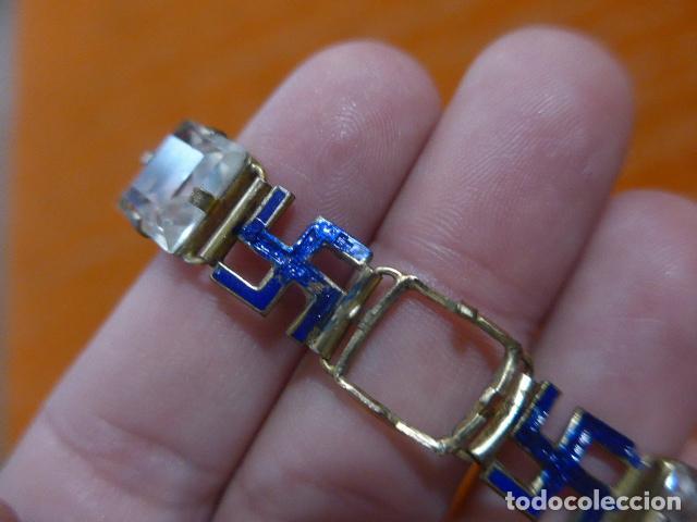 Militaria: Antiguo brazalete español con esvasticas y brillantes, Division azul, epoca II guerra mundial. - Foto 12 - 288654403
