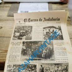 Militaria: EL CORREO DE ANDALUCIA,GUERRA CIVIL,15-06-1937 TOMA DE BILBAO, PLENCIA, LAS ARENAS, ETC. Lote 288964263