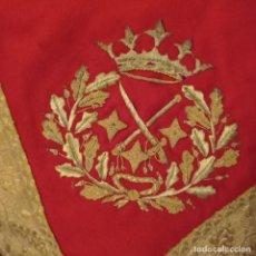 Militaria: MANTA DE LA MONTURA DE UN TENIENTE GENERAL. Lote 295878188