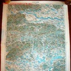 Militaria: MAPA MILITAR ALEMÁN DE ZAGREB, 1914.. Lote 13580287