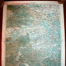 Militaria: MAPA MILITAR ALEMÁN DE BROD, 1914.. Lote 14775221