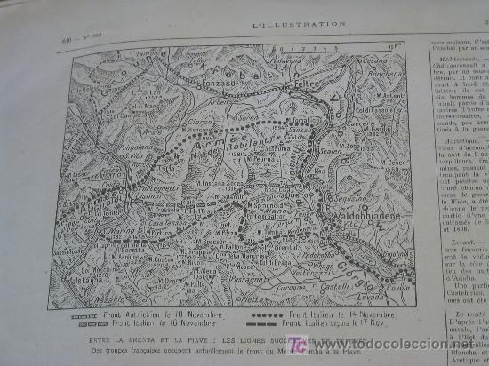 Militaria: L´ILLUSTRATION - 22 DICIEMBRE 1917 - PERIODICO FRANCES - 30 x 40 cm - REV. RUSA y I GUERRA - - Foto 4 - 20910751