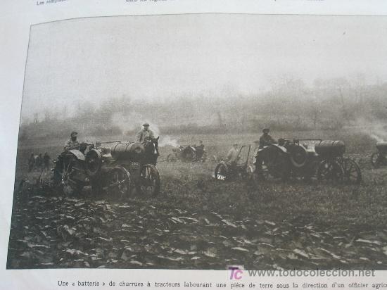 Militaria: L´ILLUSTRATION - 22 DICIEMBRE 1917 - PERIODICO FRANCES - 30 x 40 cm - REV. RUSA y I GUERRA - - Foto 6 - 20910751