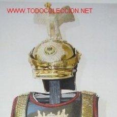 Militaria: CORAZA Y CASCO EN TAMAÑO PRINCESA DE OFICIAL DE LA GUARDIA DE COROS PRUSIANA, Y A ESCALA. Lote 8199639