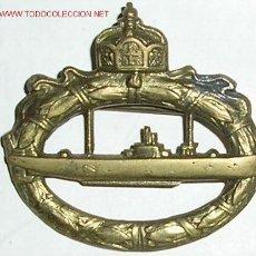Militaria: DISTINTIVO IMPERIAL DE SUBMARINOS. IGM. MODELO SCHOTT. CON MARCAJE. . Lote 12415821