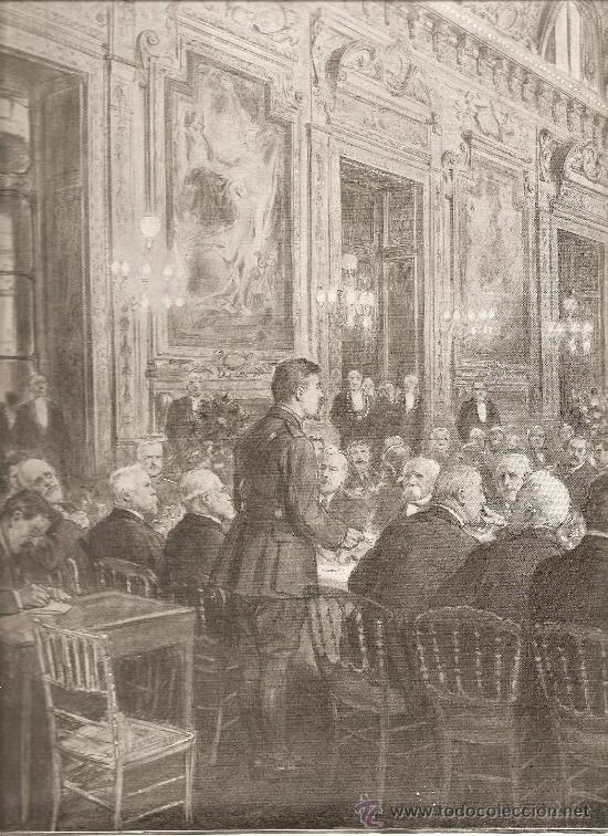 187. I GUERRA MUNDIAL: COMIDA DE RECEPCION AL PRESIDENTE WILSON (USA) (Militar - I Guerra Mundial)