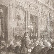 Militaria: 187. I GUERRA MUNDIAL: COMIDA DE RECEPCION AL PRESIDENTE WILSON (USA). Lote 11781914