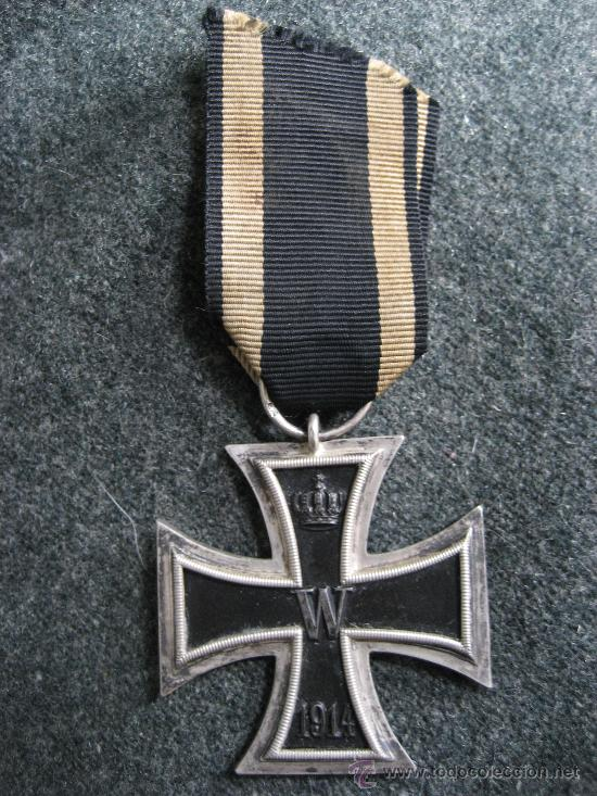 EK 2 PRIMERA GUERRA MUNDIAL ORIGINAL Y MARCADA (Militar - I Guerra Mundial)