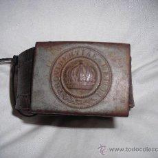 Militaria: CINTURON , CON HEBILLA DE LA PRIMERA GUERRA MUNDIAL.. Lote 26567748