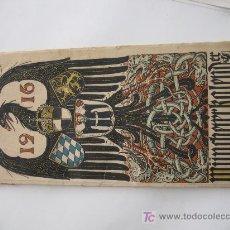 Militaria: CALENDARIO ALEMAN DE 1914, BELLAMENTE ILUSTRADO. VER MAS FOTOS.. Lote 26210677