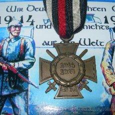 Militaria: CRUZ HONOR CON ESPADAS 1914/18(05). Lote 26623243