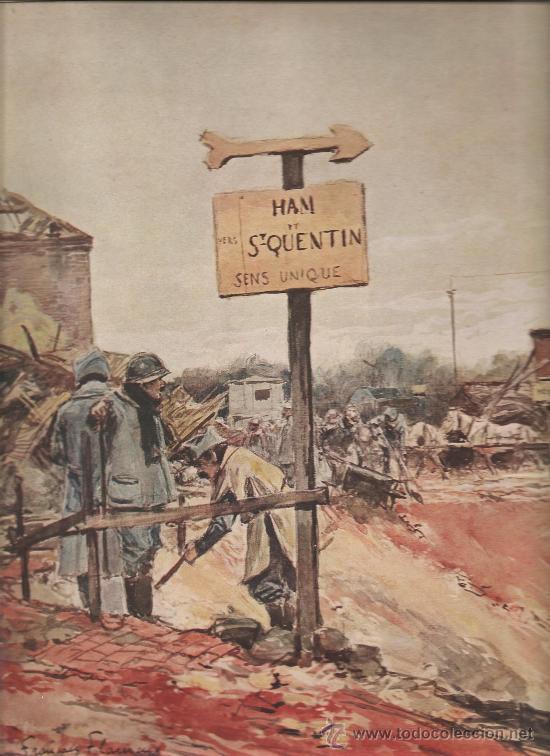 141. I GUERRA MUNDIAL: BATALLA DE SAN QUINTIN (Militar - I Guerra Mundial)