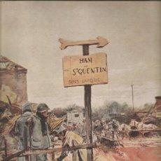 Militaria: 141. I GUERRA MUNDIAL: BATALLA DE SAN QUINTIN. Lote 13386827