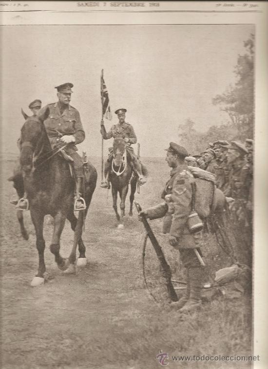 375. I GUERRA MUNDIAL: SIR DOUGLAS HAIG Y LAS TROPAS CANADIENSES (Militar - I Guerra Mundial)