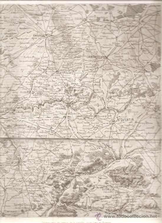 178. I GUERRA MUNDIAL:BATALLA DE SAN QUINTIN ENTRE LENS Y SOISSONS (Militar - I Guerra Mundial)