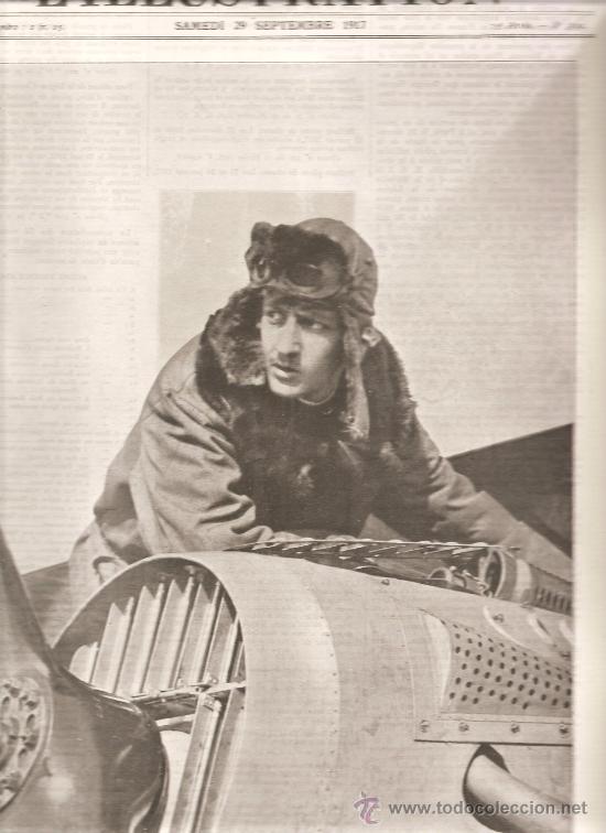 153. I GUERRA MUNDIAL: AVIADORES FRANCESES: GUYNEMER (Militar - I Guerra Mundial)