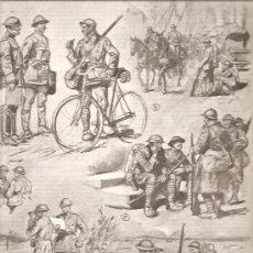 Militaria: 185. I GUERRA MUNDIAL: COLABORACION DE SOLDADOS FRANCESES Y AMERICANOS. Lote 14070077