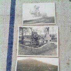 Militaria: 3 FOTOS ORIGINALES ALEMANAS I GUERRA MUNDIAL. Lote 27230724