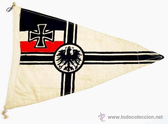 BANDERÍN DE VEHÍCULO IMPERIAL (Militar - I Guerra Mundial)