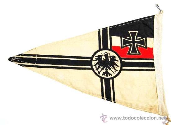 Militaria: Banderín de Vehículo Imperial - Foto 2 - 27202348