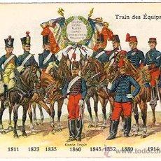 Militaria: I GUERRA MUNDIAL, AUTÉNTICO DE ÉPOCA, EVOLUCIÓN DEL UNIFORME DESDE 1811 HASTA 1914, NUEVA,VER FOTOS. Lote 26563920