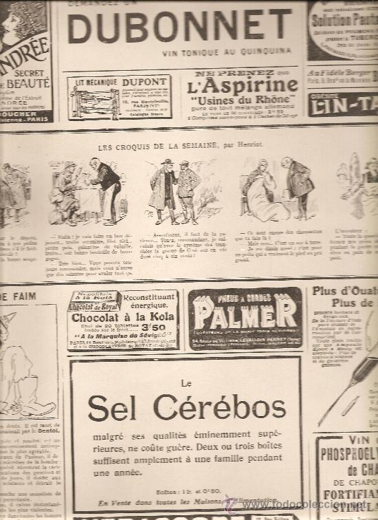 90. 11 DE SEPTIEMBRE DE 1915. L,ILLUSTRATION: ANUNCIOS Y COMIC (Militar - I Guerra Mundial)