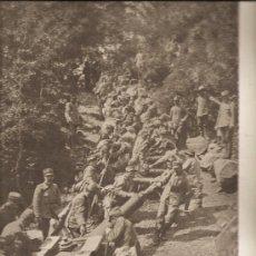 Militaria: 132. (L.ILLUSTRATION 11-9-1915) ARTILLERIA. FRENTE DEL TRENTINO (ITALIA). Lote 23145631