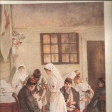 Militaria: 136.(L,ILLUSTRATION 11-9-1915) HERIDOS EN POITIERS. Lote 23145943