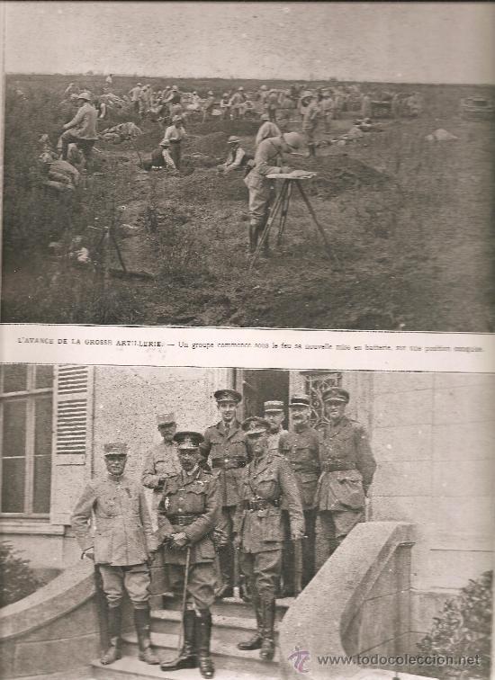 372. OFENSIVA DE LA SOMME : ENTREVISTA FRANCO BRITANICA (Militar - I Guerra Mundial)