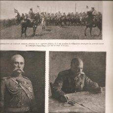 Militaria: 415. FRENTE RUSO: GENERALES RUSOS Y PRISIONEROS AUSTRIACOS. Lote 23282568