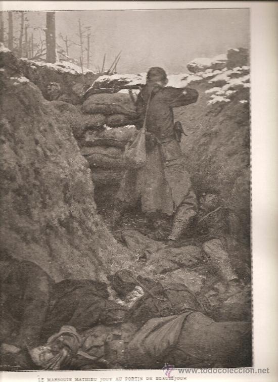 169. TRINCHERA EN EL FUERTE BEAUSEJOUR (Militar - I Guerra Mundial)