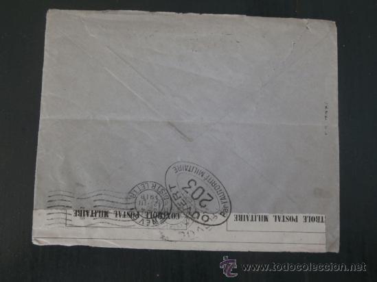 Militaria: circulada 1916 de madrid a ginebra con censura militar primera guerra mundial - Foto 2 - 39102522