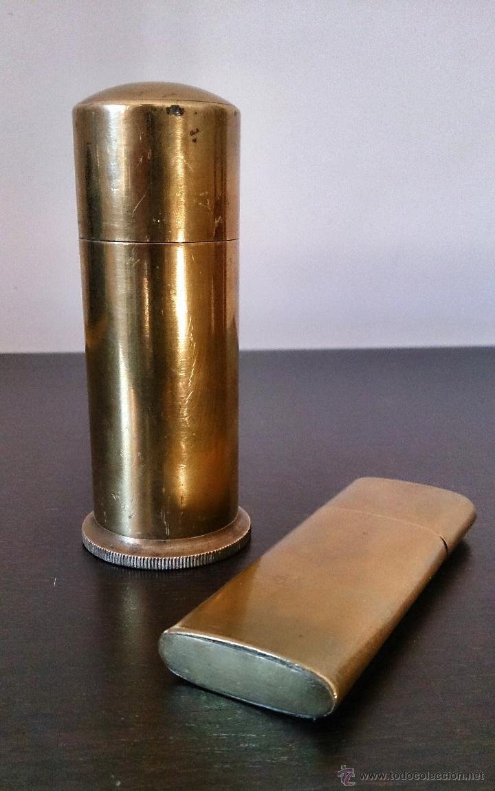 Militaria: Encendedores 1ª Guerra mundial c.1900-1920 - Foto 9 - 46990330