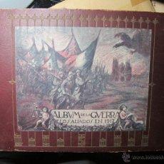 Militaria: ALBUM DE LA GUERRA, LOS ALIADOS EN 1917 COMITE DE PERIODISTAS CATALANES PARA LA PROPAGANDA ALIADOFIL. Lote 49017612