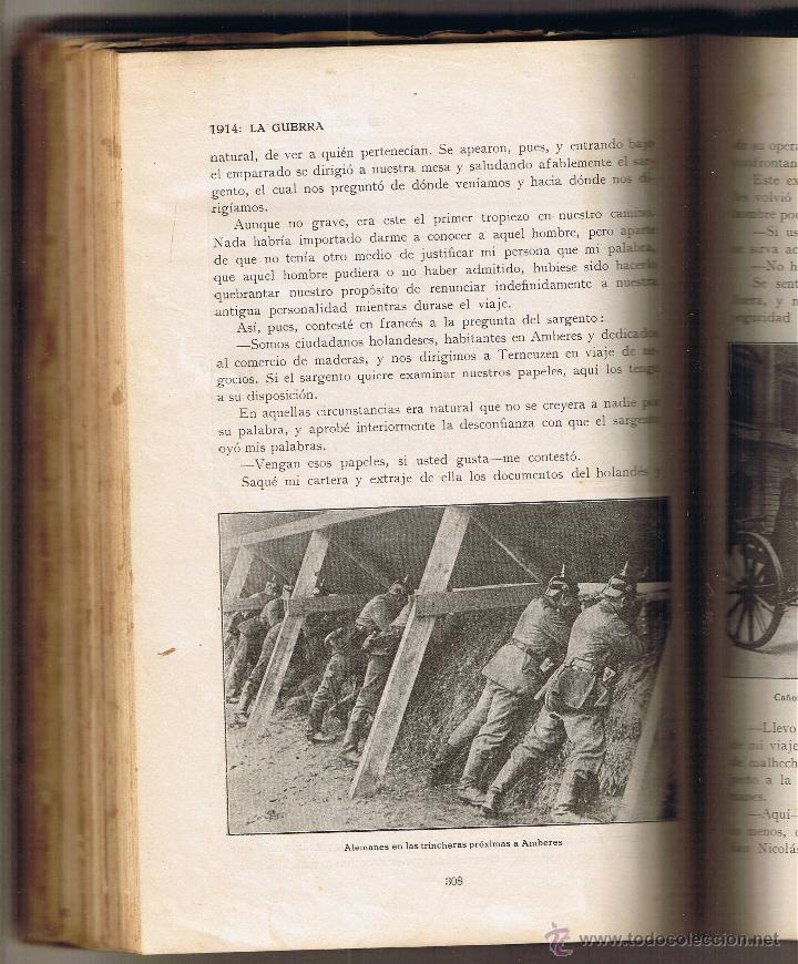 Militaria: 1914 LA GUERRA - NOTAS DE CAMPAÑA - ALBERTO SASSEL - Foto 2 - 50492805