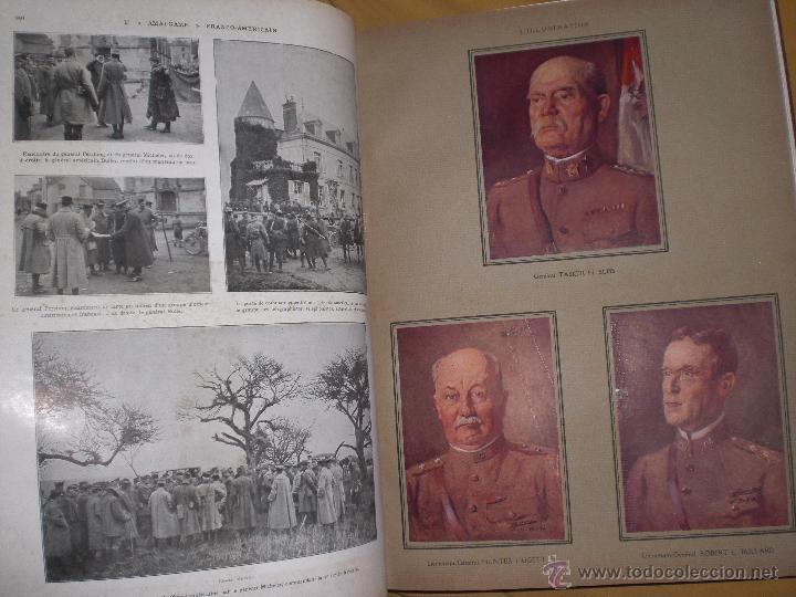 Militaria: 2 tomos la primera guerra mundial la ilustración. - Foto 4 - 51208578