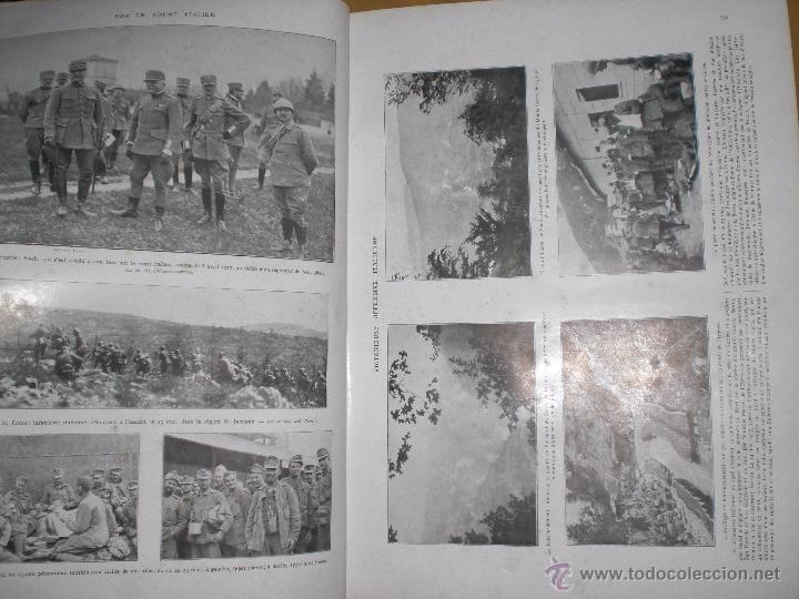 Militaria: 2 tomos la primera guerra mundial la ilustración. - Foto 5 - 51208578