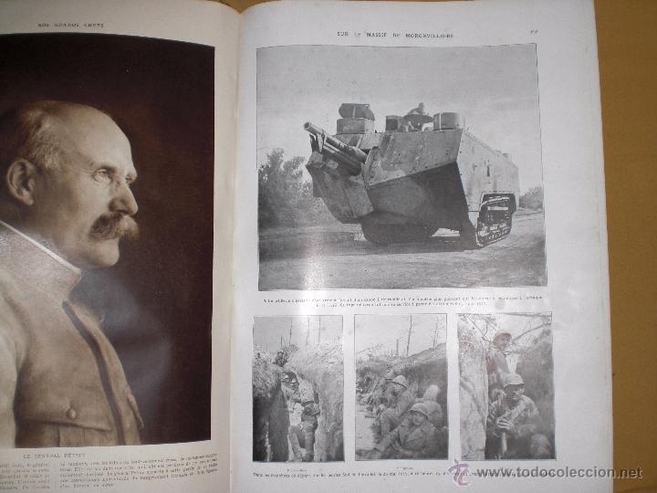 Militaria: 2 tomos la primera guerra mundial la ilustración. - Foto 6 - 51208578