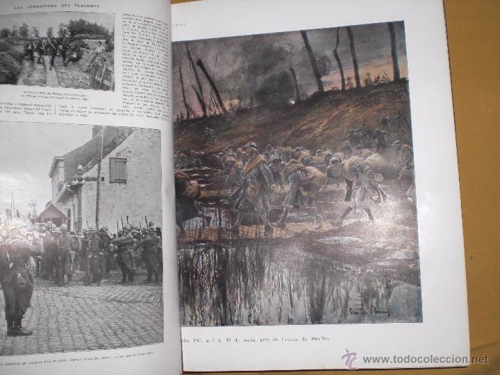 Militaria: 2 tomos la primera guerra mundial la ilustración. - Foto 7 - 51208578