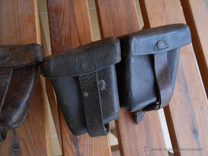 Militaria: pareja portacargadores fusil Mannlicher wwI - Foto 2 - 51549841