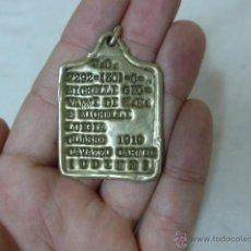 Militaria: ANTGIUA CHAPA DE IDENTIFICACION DE 1919, DE ITALIA ?. Lote 51692608