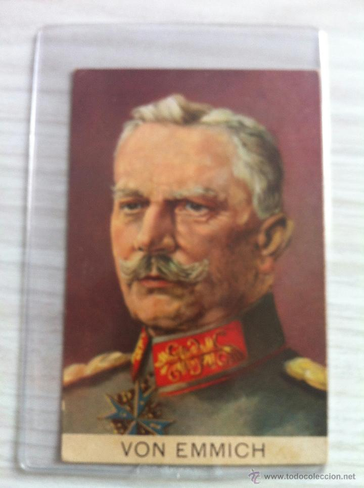 FOTO POSTAL IGM VON EMMICH, POUR LE MERITE (Militar - I Guerra Mundial)
