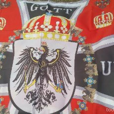 Militaria: EXTRAODINARIA BANDERA PRUSIANA. REPLICA. Lote 59777752